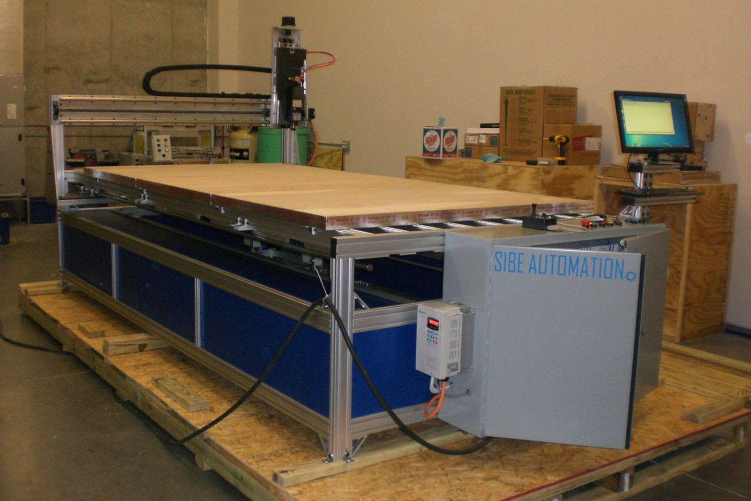 3 Axis CNC Routers - Sibe Automation